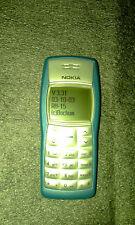 NOKIA 1100, firmware 3.31 RH-15 - telefono blu-COLLEZIONE PRIVATA