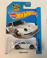 Porsche 993 GT2 #27 * WHITE * Hot Wheels 2014 * C8