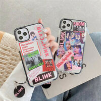 Fashion Transparent BLACKPINK Phone Case For Apple iPhone 11 Pro Max X XR XS 8 7