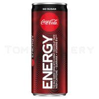 COCA COLA ENERGY Drink Zero Sugar Full Unopened Can 250ml