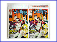 Wild Thing #4 Marvel July 1993 Lot Of 10 Copies White Pages VF++ Comic Books
