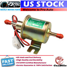 12V Universal 2.5-4 PSI Gas Diesel Inline Low Pressure Electric Fuel Pump HEP02A