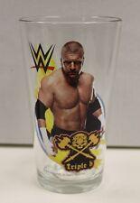 Triple H WWE 16 oz. Pint Glass 'TOON TUMBLER NEW!!