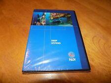 Padi Deep Diving Training Materials Scuba Divers Diver Train Dive Dvd Sealed New