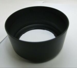 58mm ID Plastic Lens Hood Shade unknown brand twist on type