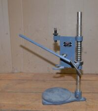 Black & Decker all metal vintage drill stand jeweler machinist bench tool