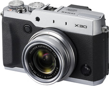 Fujifilm X30 12 MP Digital Compact Camera with Tilt Out Screen