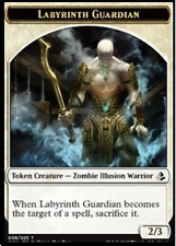 Labyrinth Guardian White Zombie TOKEN NM X4 Amonkhet MTG