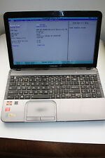"TOSHIBA SATELLITE L855D-S5117 15.6"" AMD A8 QUAD CORE- for parts or repair"