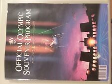 Official Olympic Souvenir Program Games of the XXIIIrd Olympiad Los Angeles 1984