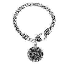 Pagan Tetragrammaton Pentagram Pentacle Male Bracelet Men Wiccan Jewelry