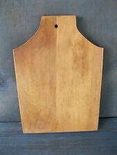 """Vintage Bread Board Primitive Country 11-1/2"""" x 8"""" Wood, Cutting Dough"""