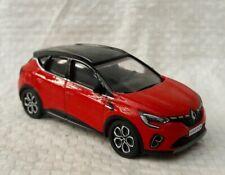 Nuovo Renault Captur 3 inch Scala 1/64 Rosso Fiamma. Nuovo IN Scatola