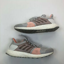 adidas ultra boost gray peach Running Shoes women's size 7.5