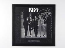 KISS Gene Simmons Dressed To Kill Signed Autograph Record JSA PSA Beckett