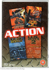 Operation Delta Force 1 and 2 / U.S. Seals 1 and 2 (4 films on 2 DVDs)