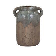 Imax Bardot Blue Stone Large Ceramic Vase 13325 Vases New