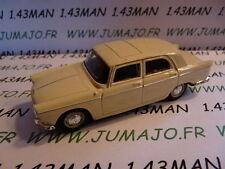 Voiture 1/43 NOREV Peugeot  404 toit ouvrant blanche