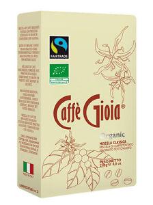 Caffè Gioia Ground Coffee Organic Fairtrade - Classica (250g)