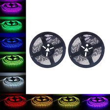 NEW 5-10M RGB 5050 SMD Waterproof 300 LED Light Strip Flexible + IR Remote 12V