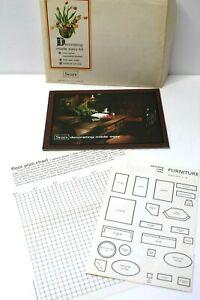 Vintage Sears Decorating Made Easy Kit - 1968 - Good Vintage Reference