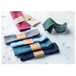 Cotton Linen Napkins for Wedding Table Cloth Dinner Napkin Decoration FI