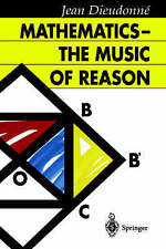 NEW Mathematics ― The Music of Reason by Jean Dieudonne