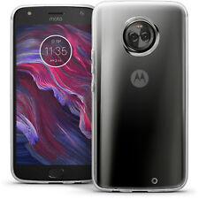 Funda TPU Gel Skin Carcasa para Motorola Moto X4 Case Cover + Prot de Pantalla
