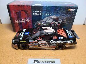 1997 Dale Earnhardt Sr #3 GM Goodwrench Daytona Crash Car 1:24 NASCAR Action MIB
