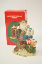 Santa's of the Nations England Father Christmas Hand Painted Porcelain Figurine