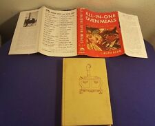 1952 ALL IN ONE OVEN MEALS Hardcover Cookbook Cook Book by RUTH BEAN 1st Ed.