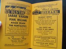 1964 Amusements ATLANTIC CITY NJ City Guide Nightclubs Restaurants Street Maps