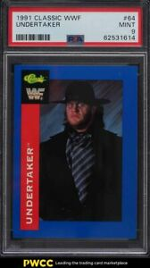 1991 Classic WWF Wrestling Undertaker #64 PSA 9 MINT