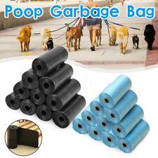5 Rolls/Set Dogs Pet Poop Carrier Bag Garbage Bags Garbage Carrier Daily Use