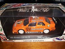 Minichamps 1/43 Alfa Romeo 155 V6 TI #27 DTM 1994 M. Bartels Jagermeister