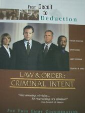 Law and Order Criminal Intent VIncent D'Onofrio Deceit to Deduction Emmy Ad a