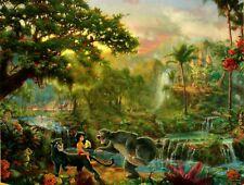 "Thomas Kinkade Disney Dreams ""The Jungle Book"" Boxless 500pc Puzzle *NEW*"