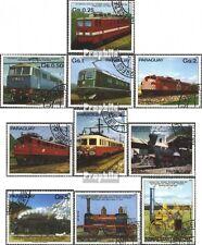 Paraguay 3358-3367 (kompl.Ausg.) gestempelt 1981 100 Jahre elekt. Eisenbahn EUR