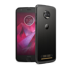 New listing Motorola Moto Z2 Force 64Gb Black Gsm At&T Xt1789-05 Free shipping Ip027Cd9