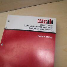 Case Ih 9150 Steiger Couger Tractor Spare Parts Manual Book Catalog List 1987