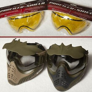V Force Paintball Masks and Extra Lens