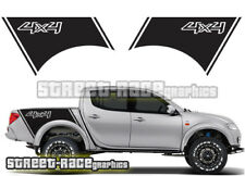 Mitsubishi L200 033 side racing stripes stickers decals graphics 4x4 offroad