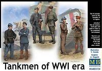 Master Box MB 1/35 35134 Tankmen of WWI Era (6 Figures)