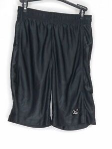 Pre-Owned Colosseum Athletics Youth Boys Polyester Black Shorts Size Large
