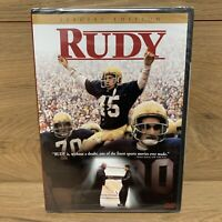 Rudy (DVD, 2000, Special Edition) Widescreen BRAND NEW Sealed