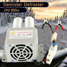 24V 800W Electric Car Fan Air Heater Demister Defroster Heating Warm Windscreen