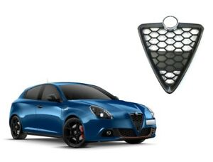Alfa Romeo Giulietta 2016 Bouclier Centrale Nid D'Abeille Avec Cadre Noir Poli