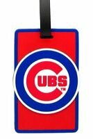 Chicago Cubs Travel Bag Tag Luggage ID Tag Team Colors MLB
