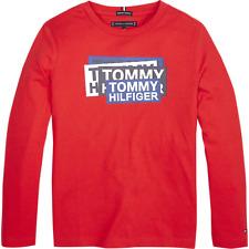 TOMMY HILFIGER BOYS LONGSLEEVE SHIRT LANGARM KB05345 NEU Gr.152 /12 Y