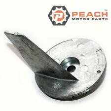 Peach Motor Parts PM-55125-87E01 Anode, Trim Tab Lower Unit Gearcase Zinc Suzuki